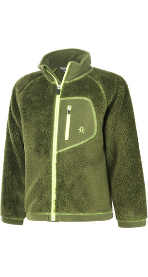 Color Kids Burma Pile Fleece Chive